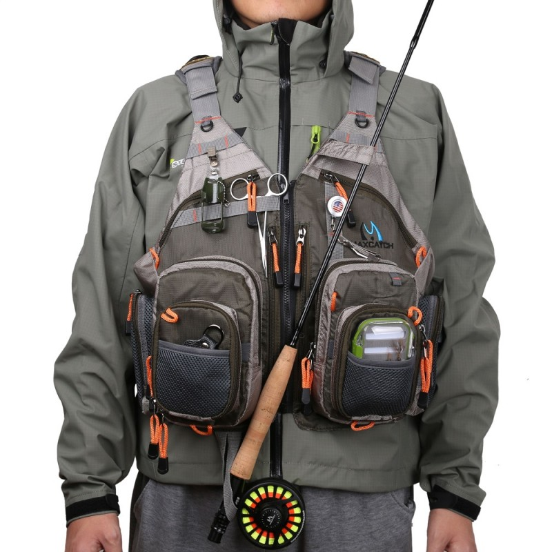 Top quality mesh fly fishing vest for Best fishing vest