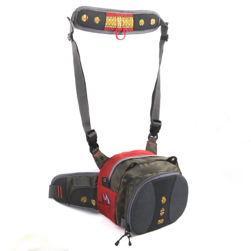 Fly fishing lightweight waist pack for Fishing waist pack