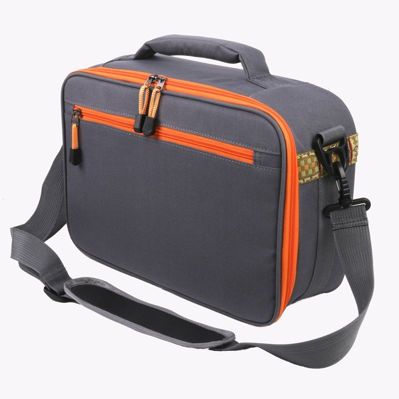 Fly fishing reel and gear bag reel case 15 2 x 10 1 x 5 1 for Fishing reel bag
