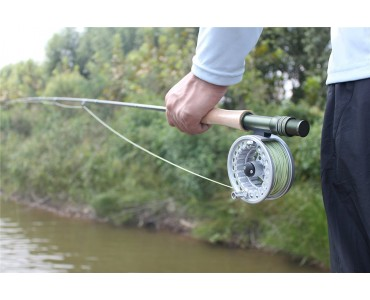 BLC FLY REEL,Simple but stable.