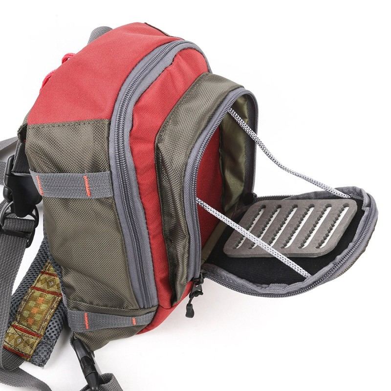 Fly fishing backpack with tackle chest pack for Fly fishing backpack