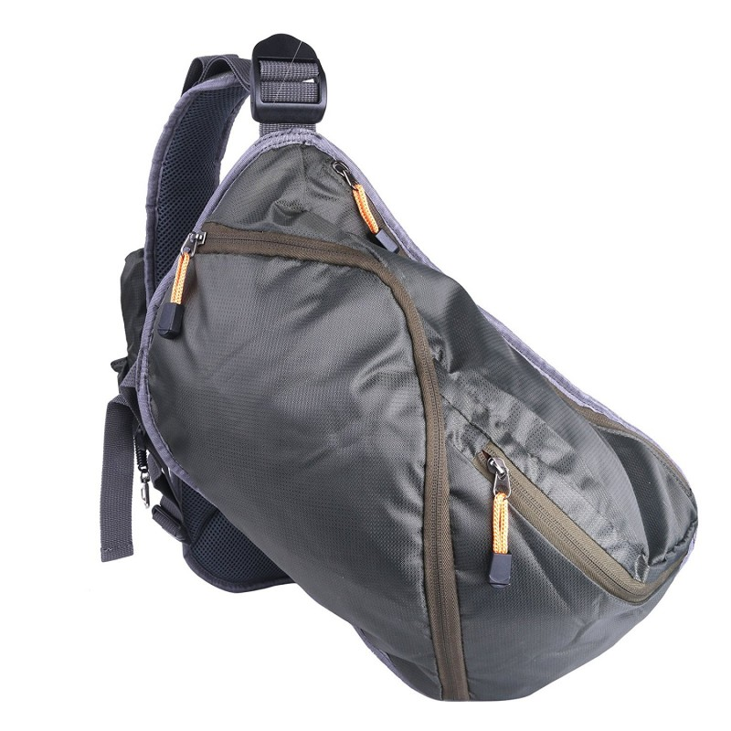 Fly fishing sling pack adjustable backpack fishing sling bag for Fishing sling pack