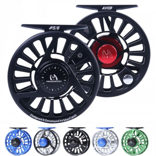 AVID Micro Adjusting Drag 1-10WT Fly Fishing Reel