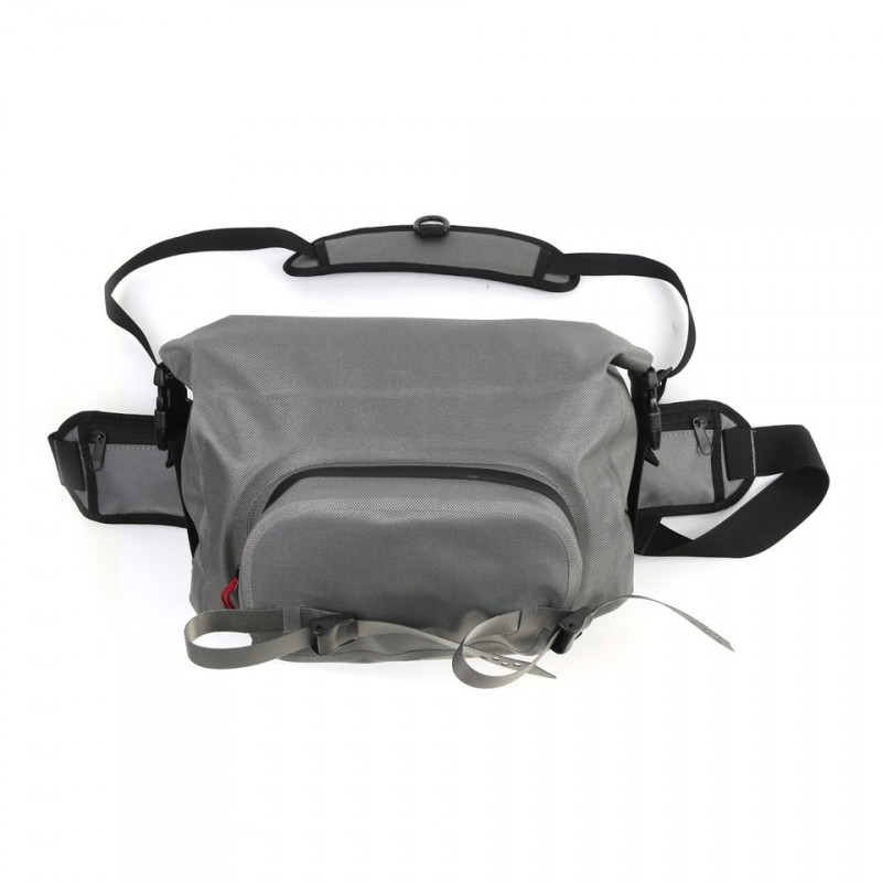 Adjustable six compartments waterproof fly fishing bag for Fishing reel bag