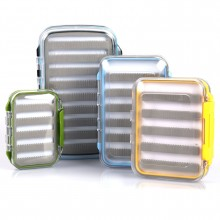 "Super Small Double-Sided Slit Foam Fly Fishing Box (4.2"" x 3"" x 1.3"")"
