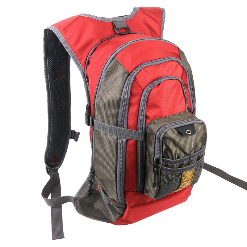 Fly fishing backpack with tackle chest pack for Fishing chest pack