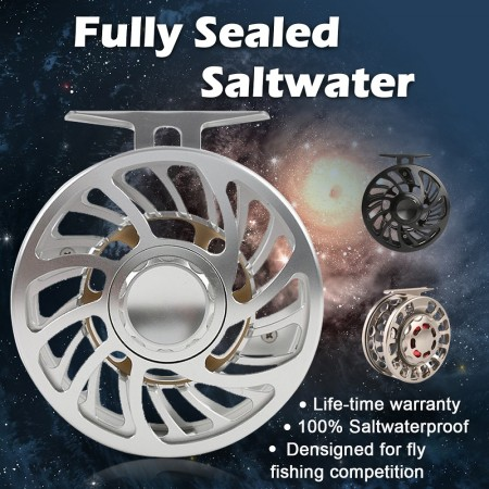 FULLY-SEALED SALTWATER PROOF REELS