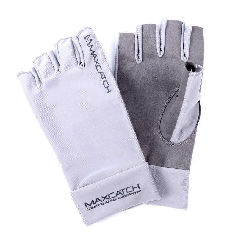 Fingerless Sun Gloves Uv Protection Glacier Glove