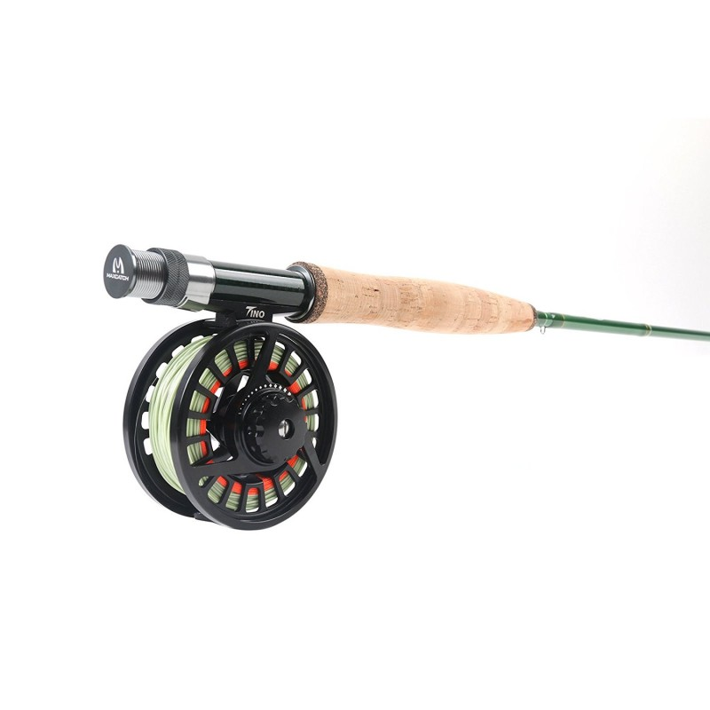 Premier fly fishing rod combo rod and reel outfit 5 6 weight for Trout fishing rod and reel