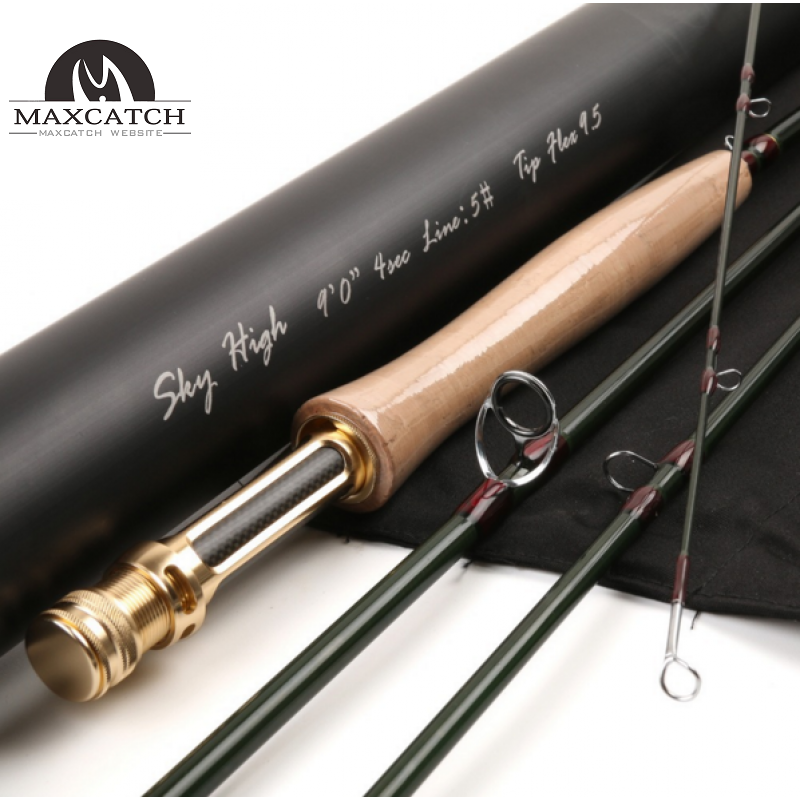 EXPERT DESIGN Professional Toray Japanese carbon Fast action Nano fly rod Black<Lifetime Warranty>