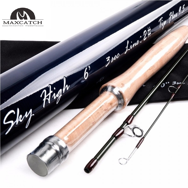 Skyhigh best quality nano toray carbon fast action fly for Best fly fishing rods
