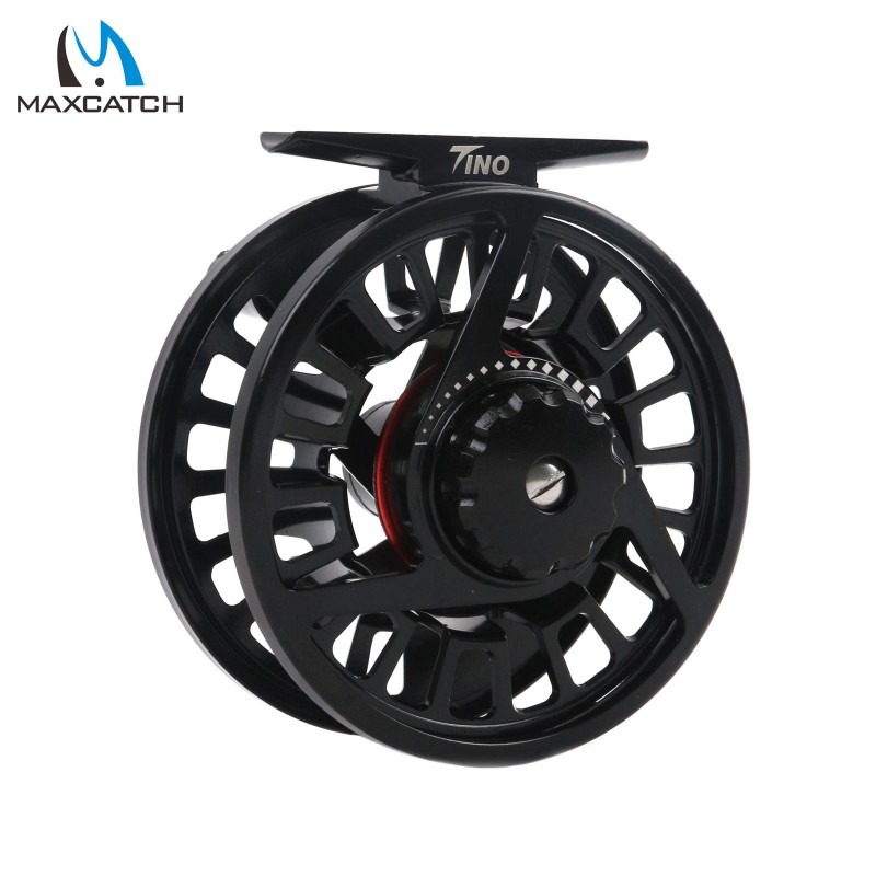 Right Left Handed Die Casting Aluminum Black Fly Fishing Reel
