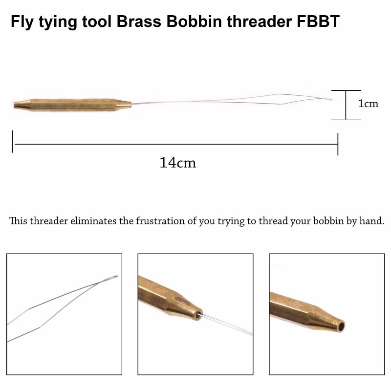 FLy Tying Tools Whip Finisher/Bobbins/Hackle Plier/Needle/Threader