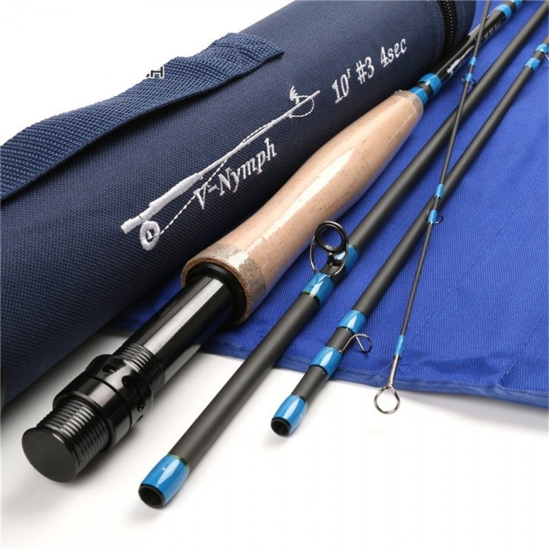 Nymph 4-piece IM10 Carbon Nymph Rod Fly Fishing with ...