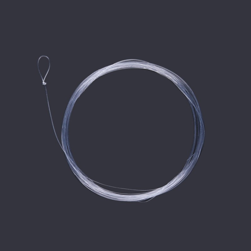 Fly fishing leader 9ft 3 4 5 6x tapered nylon leader with for Fly fishing leader
