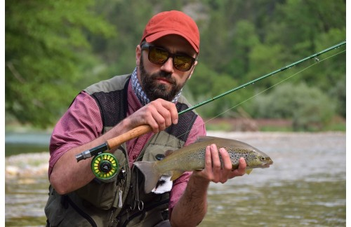 How a professional fly rod!
