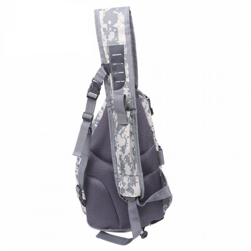 Fly fishing sling pack shoulder fishing bag camo color v for Fly fishing sling pack