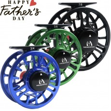 .TORO Aluminum Fly Fishing Reel Large Arbor Right Left-Handed