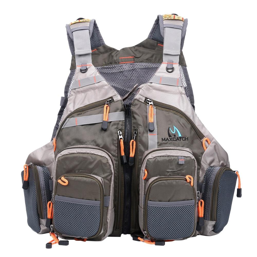 Fishing pack vest bag for Best fishing vest