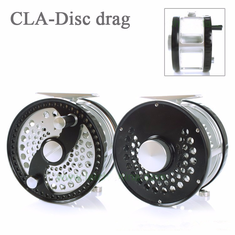 Professional Classsic Disc Drag System CNC Machine Cut Aluminum Fly Reel(10 years warranty)