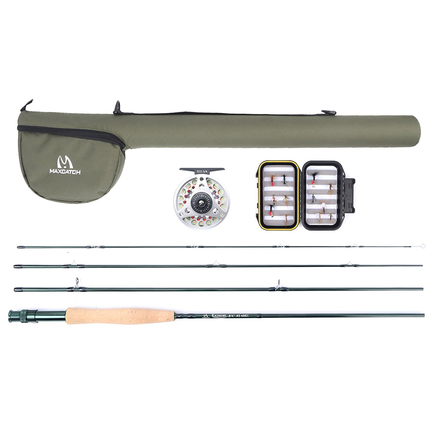 Extreme Fly Fishing Combo (Only 20 pcs)