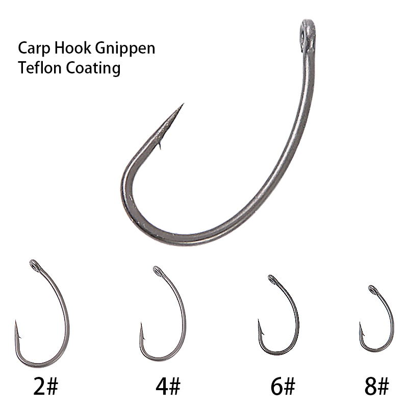 High Carbon Steel Carp Fishing Hair Rigs GIPPEN