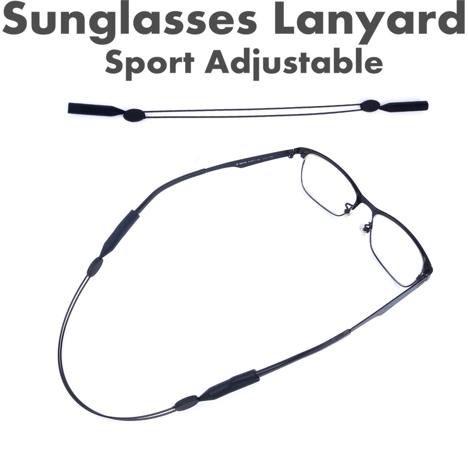 2pcs Sunglasses Lanyard High Quality Elastic Sport adjustable String for Spectacles Fishing Accessory