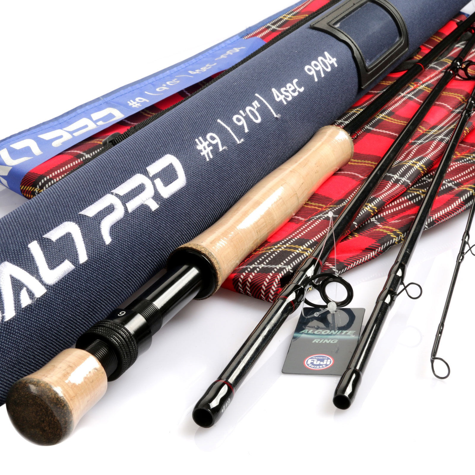 Saltwater Rod 8/9/10wt 9ft Graphite IM10 Fast Action Fly Fishing & Tube