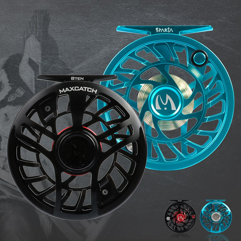 Sparta Fully Sealed Lightweight Expert Fly Reel