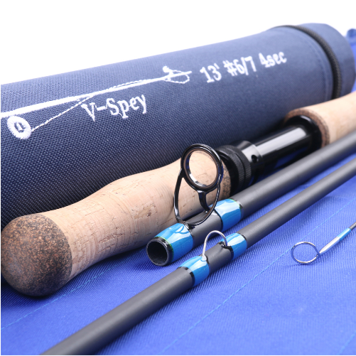 Spey Fly Rod 4-piece Carbon Spey Rod