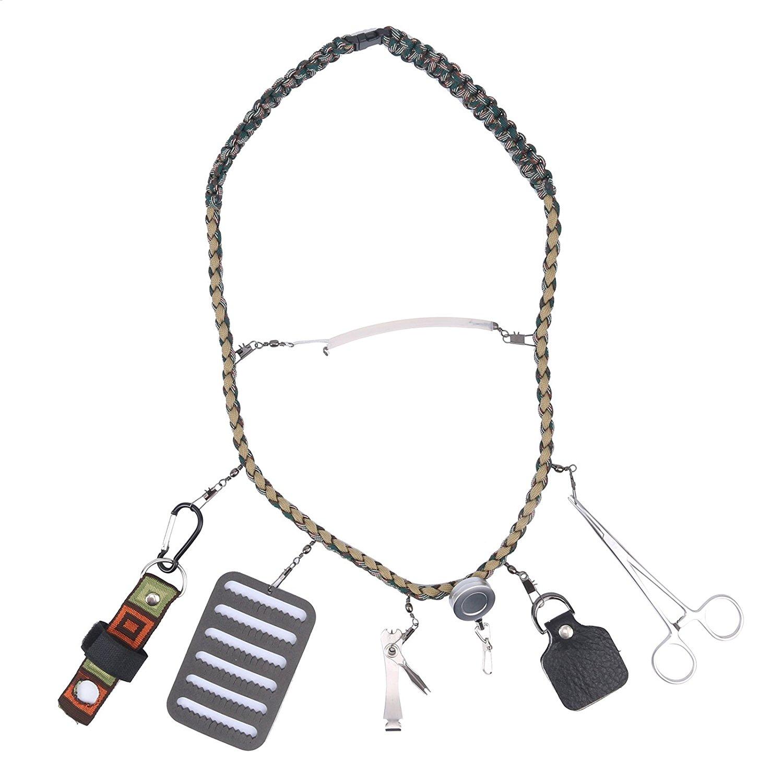 Lanyard tool kits for Fly fishing tools