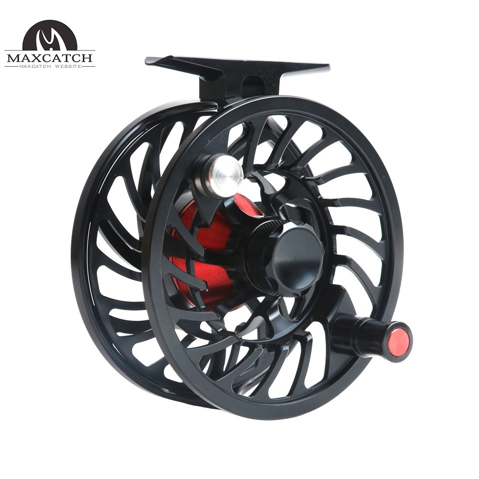 VM Saltwater 100% Waterproof Saltwater Sealed Multi-disc Drag Fly Fishing Reel