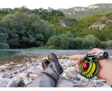 AVID GREEN FLY REEL