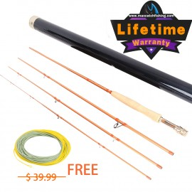 Skyhigh Gold Competition Professional Toray Fly Rod <Lifetime Warranty>