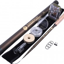 Tenkara Fly Fishing Kit (11 ft./12 ft./13 ft.) - Telescopic Tenkara Fly Rod, Flies, Line & Box