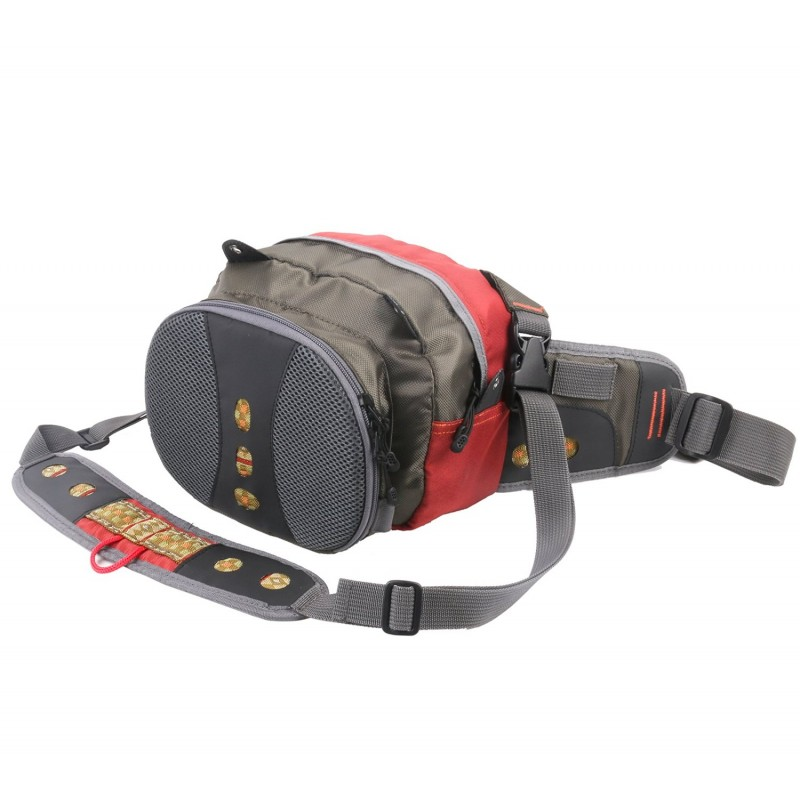 Maxcatch Fly Fishing Waist Bag Lightweight Waist Pack with Line Nipper&Tippet Holder&Forceps
