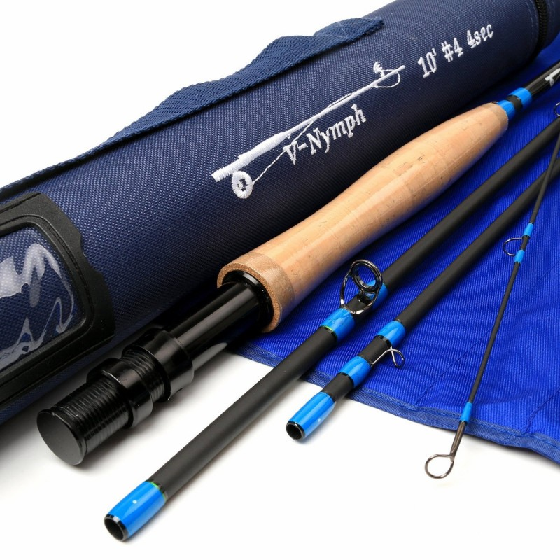 Nymph 4-piece IM10 Carbon Nymph Rod Fly Fishing with Cordura Tube