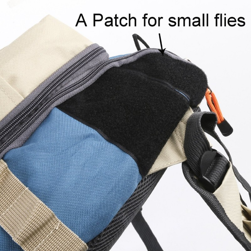 Fly Fishing Sling Pack with Tippet Holder and Line Nipper
