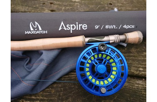Sprint Reel with New design Aspire Rod