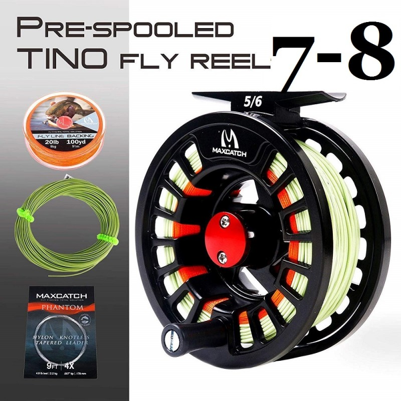 Tino 7/8WT Reel with line Combo +$8.00