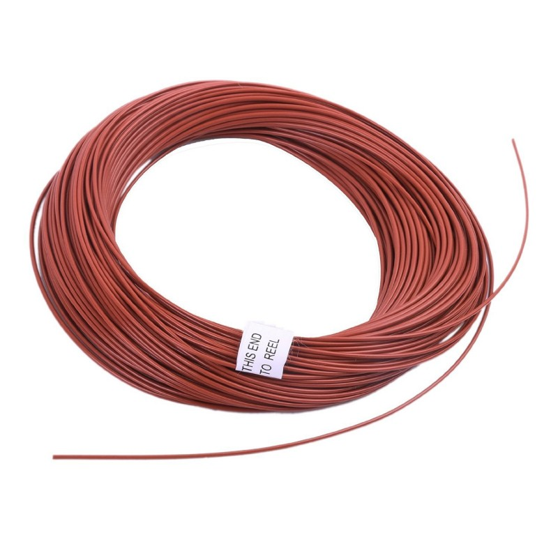 Weight Forward Full Sinking Fly Line (100ft, brown, 3ips)