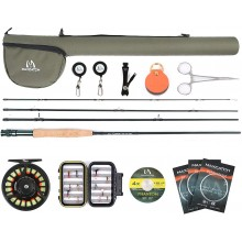 Extreme Fly Fishing Rod +Tino Reel whole combo