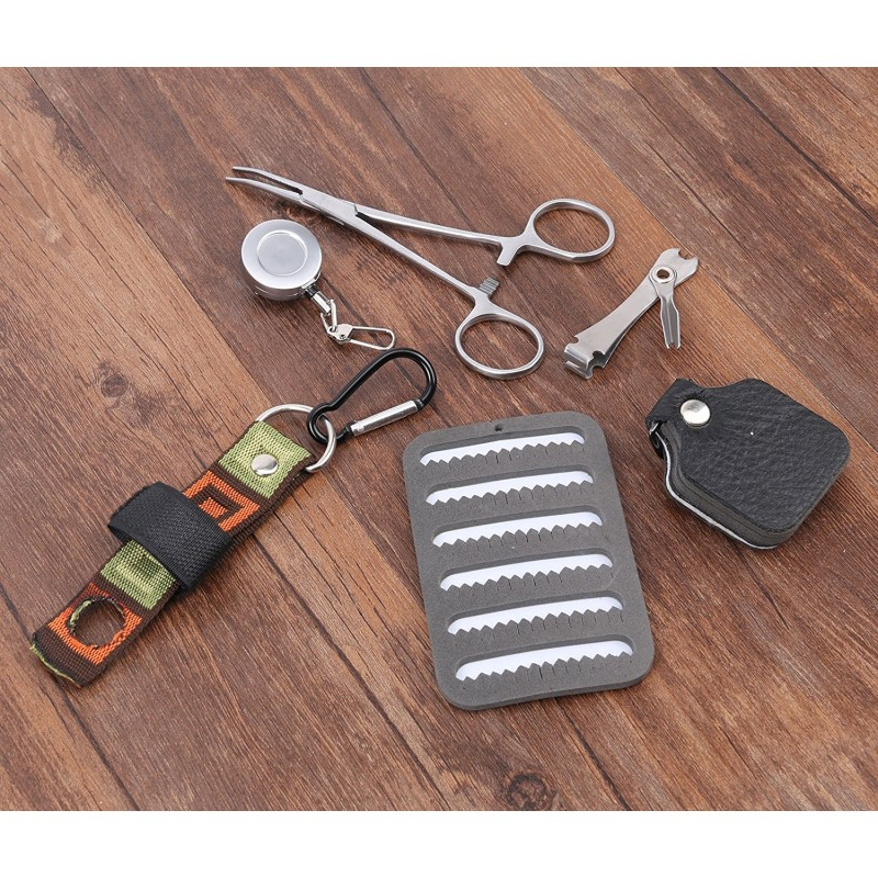 Fly Fishing Lanyard with Fishing Tools combo