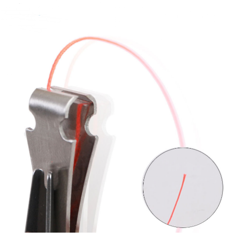 2 pcs Knot-tying Device Hook Eye Cleaner Fishing Line Clipper