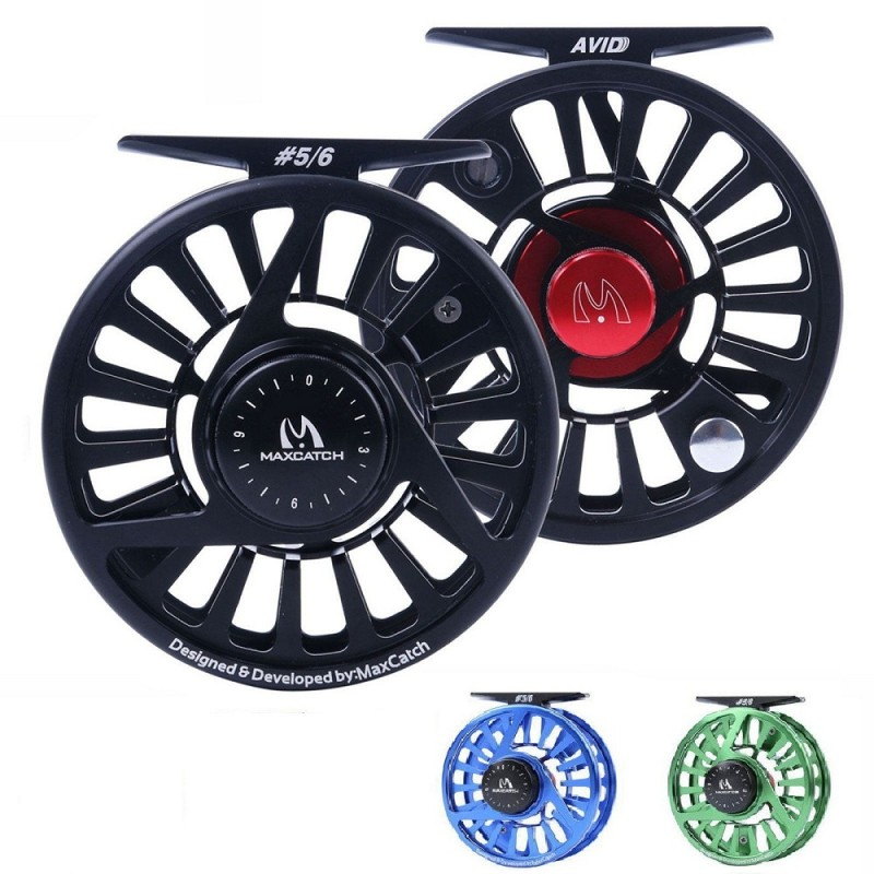 Avid Series Best Value Fly Fishing Reel,1/3wt, 3 Color Available
