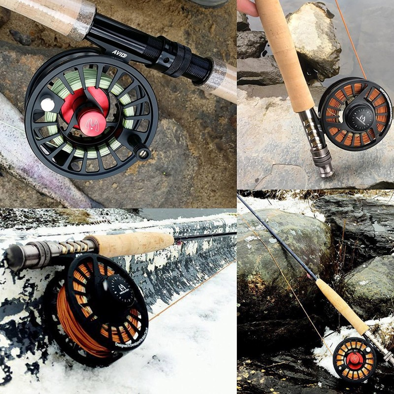 AVID Micro Adjusting Drag Smooth Machined Fly Reel
