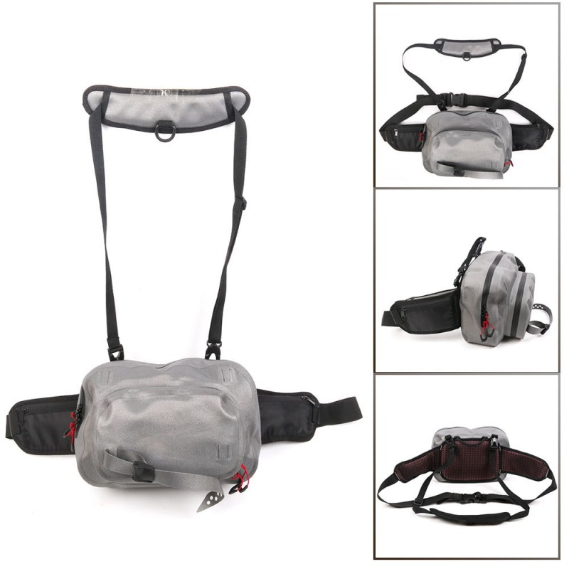 WATER RESISTANT Hurricane Roll Top Waist Bag