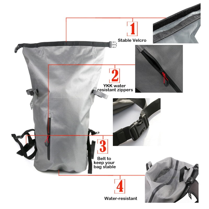 Waterproof Hurricane Roll Top Pack 30L