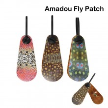 Natural Amadou Fly Drying Patch High Absorbing Fishing Accessory