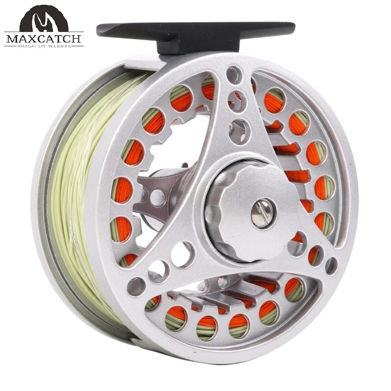 BLC Fly Reel Pre-loaded with Fly Line Diecast Aluminum Body